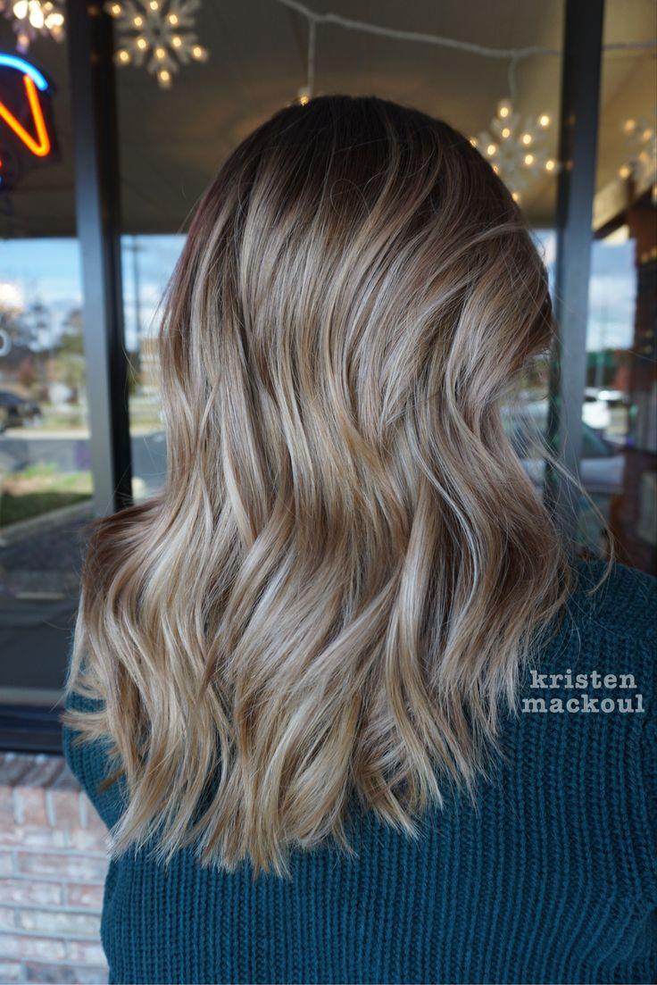 Bronde hair. @kristenmackoul