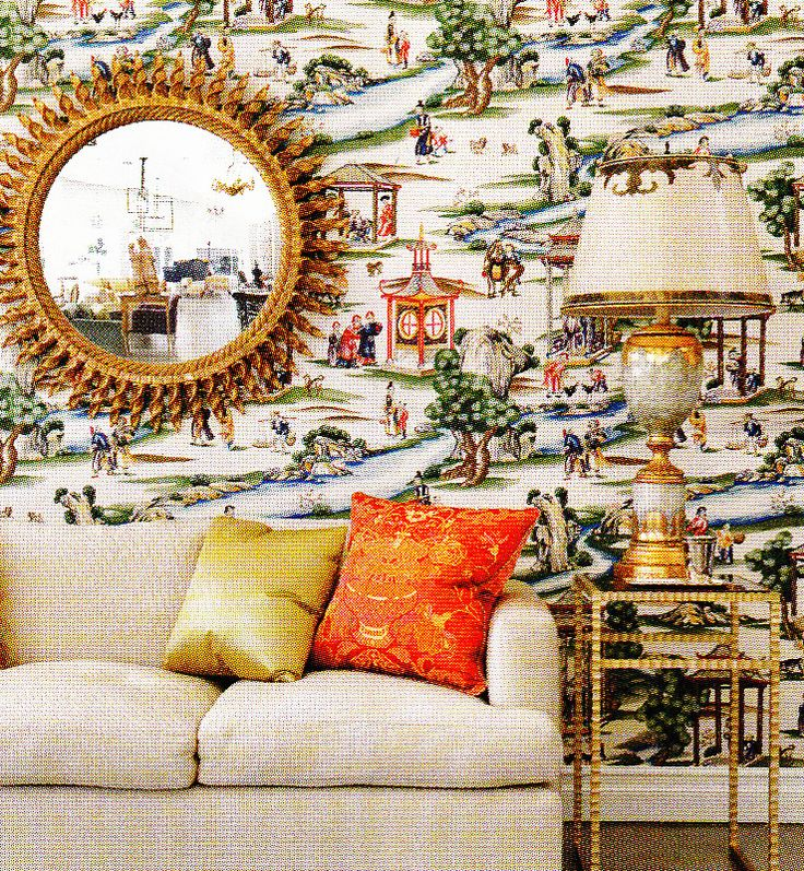 21 Best Toile Wall Paper Images On Pinterest: 274 Best Scalamandre Images On Pinterest