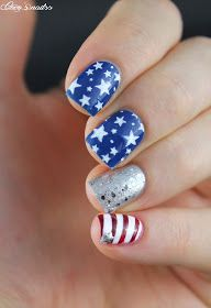 ▲▼▲ Coco's nails ▲▼▲: Nailstorming - 4th of July