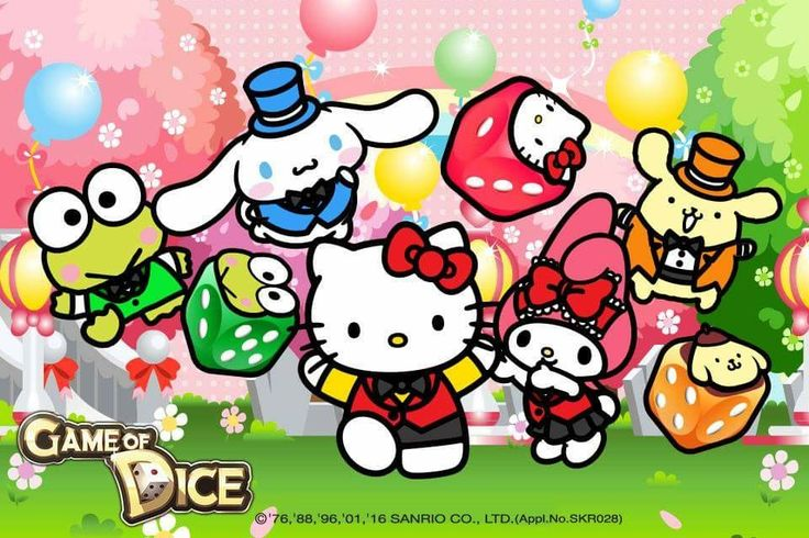 Game of Dice x Sanrio Characters