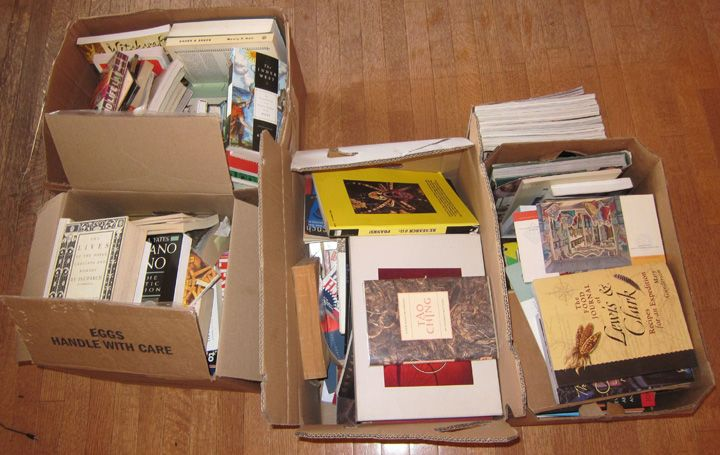 Everything Must Go Part 2: Books  Kelly's summary of the methods ofJapanese tidying guruMarie Kondoseems to have struck a nerve both on our blog and in Facebook. Some people find Kondo's techniques liberating and in others they instill an existential dread.