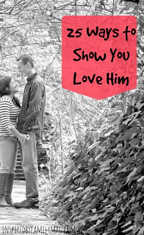 25 Ways to Show You Love Him - I absolutely love this list! It's so easy for me to forget him in the midst of the to do list and kids to tend to. This list has so many simple every day ideas to help me send the message to my husband that I appreciate him, value him and love him. #ad #SienteGlade