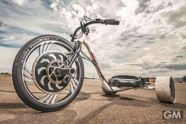 超大型でスタイリッシュな三輪車 Verrado Electric Drift Trike #drifttrike #drift-trikes