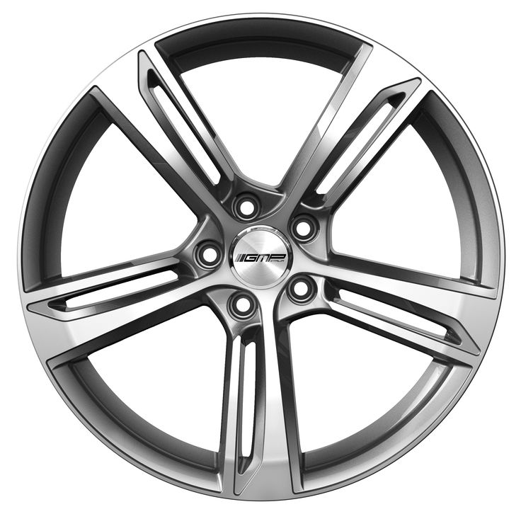 Paky Anthracite Diamond Professional Alloy wheel / Cerchio in lega professionale Paky Antracite Diamantato Front