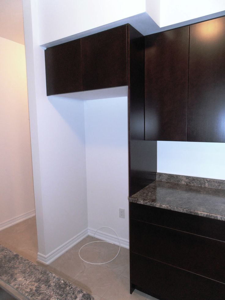 24 Quot Deep Cabinet Over Fridge With 24 Quot Deep Side Gable