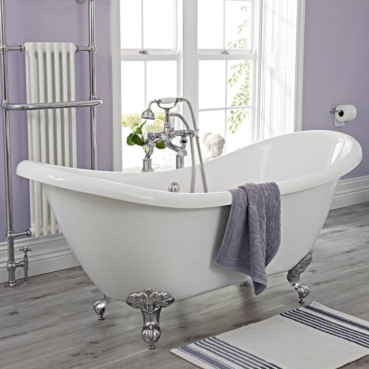 15 besten freistehende badewanne Bilder auf Pinterest Badewannen - parkett für badezimmer