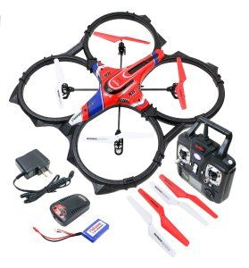 Syma X6 Quadcopter 4 Channel 3 Axis Value Package – Extra Battery + Parts This is the largest Syma quad in the market yet. http://awsomegadgetsandtoysforgirlsandboys.com/mens-toys-gadgets/  Syma X6 Quadcopter 4 Channel 3 Axis Value Package – Extra Battery + Parts