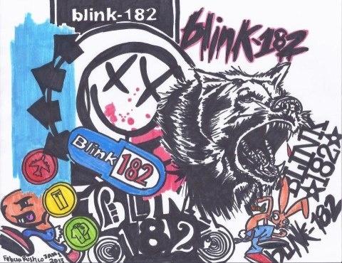 blink-182 Logos