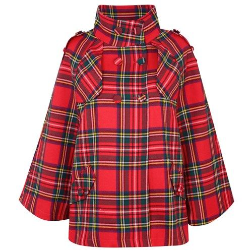 Tartan Cape from Scotlandshop.com - Choose from several Tartan options!