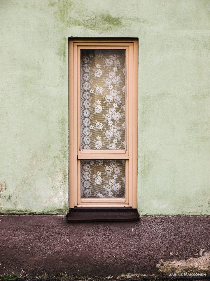 Window in Kallio, Helsinki