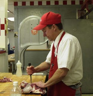 Your Butcher, Frank, the local butcher shop in Longmont.