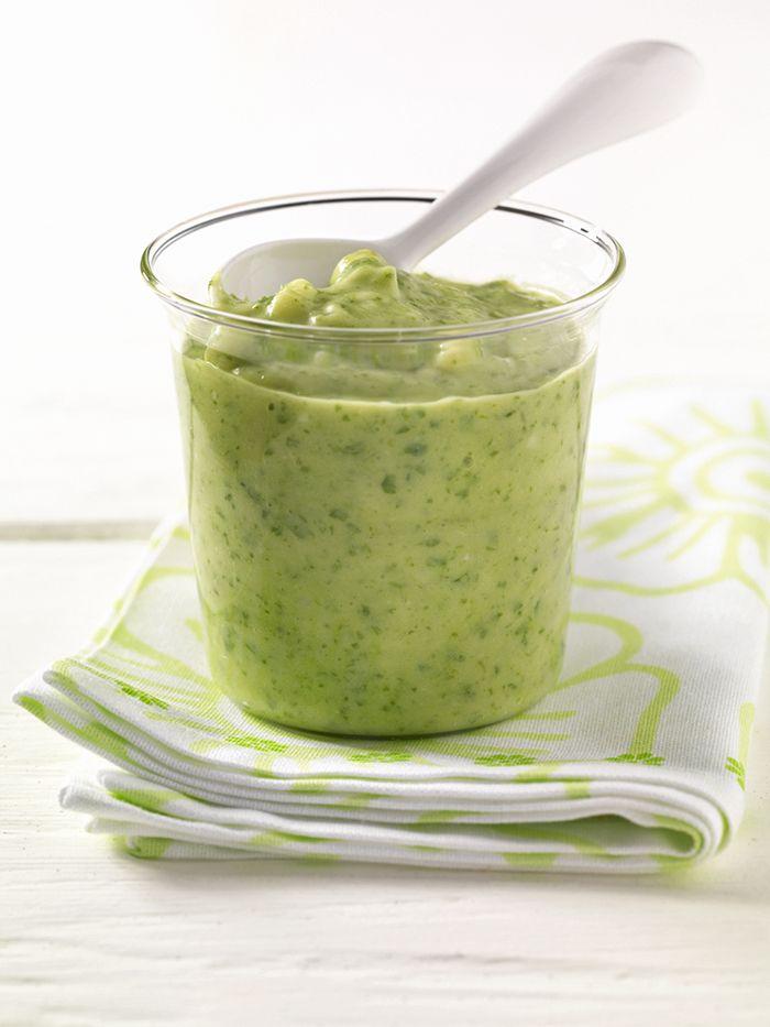 Kartoffel-Spinat-Brei mit Ei | Spinat ist ein guter Eisenlieferant. Zusammen mit dem Vitamin C aus Orangensaft wird es besonders gut aufgenommen.