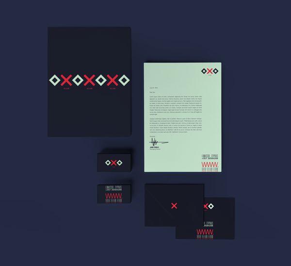 OXO #branding by #911Designers, via #Behance #Branding #design #logo #creative #artdirection #identity #stationery