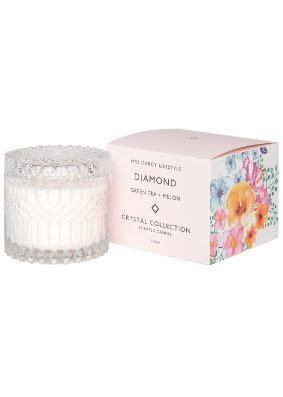 Mrs Darcy Diamond Green Tea and Melon Crystal Candle