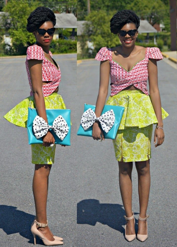 Ankara Skirt And Blouse Style Latest African Fashion African Prints African Fashion Styles