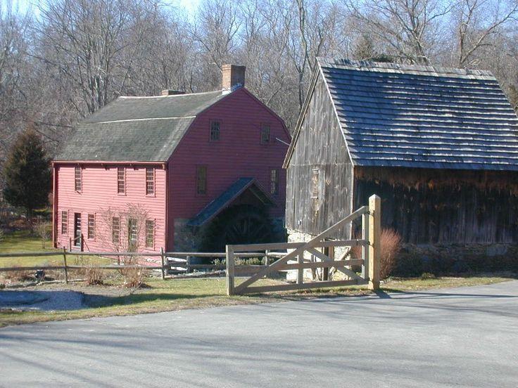 Gilbert Stuart's Birthplace, Rhode Island: Gilbert Stuart S, Stuart Birthplace, Island Things, Stuart S Birthplace, Rhode Island, Covered Bridges, Farm Items, Style Exteriors