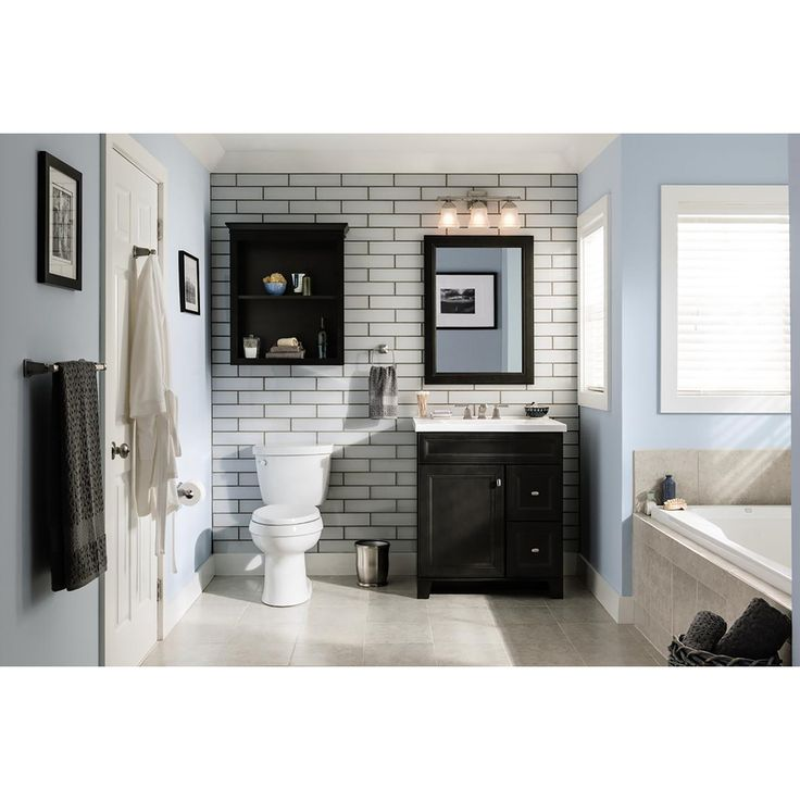 Images Of Shop Diamond Goslin Storm Transitional Poplar Bathroom Vanity Common in x
