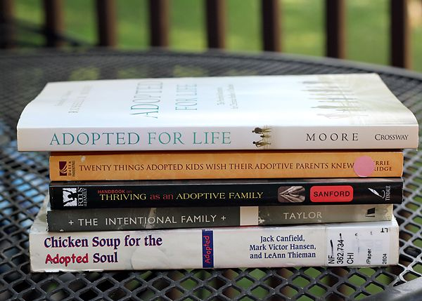 Adoption book recommendations