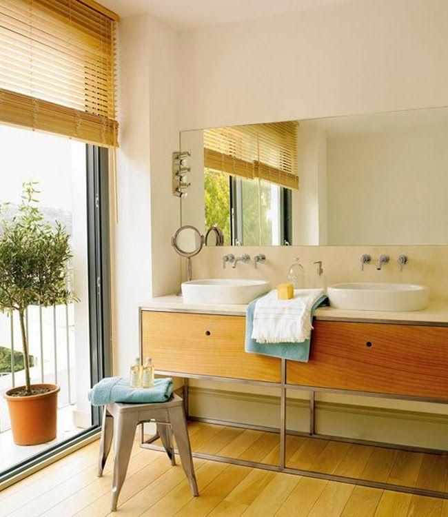 muebles para bao con dos lavabos para ms informacin ingresa en http with ideas para reformar un bao pequeo