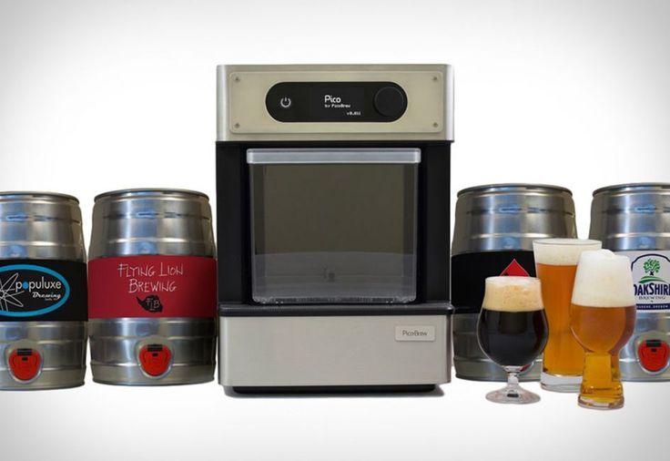 Make Home Beer Brewing as easy as using a Keurig.