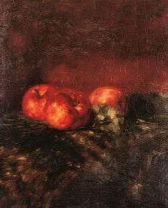 Γύζης Νικόλαος-Νεκρή Φύση με μήλα