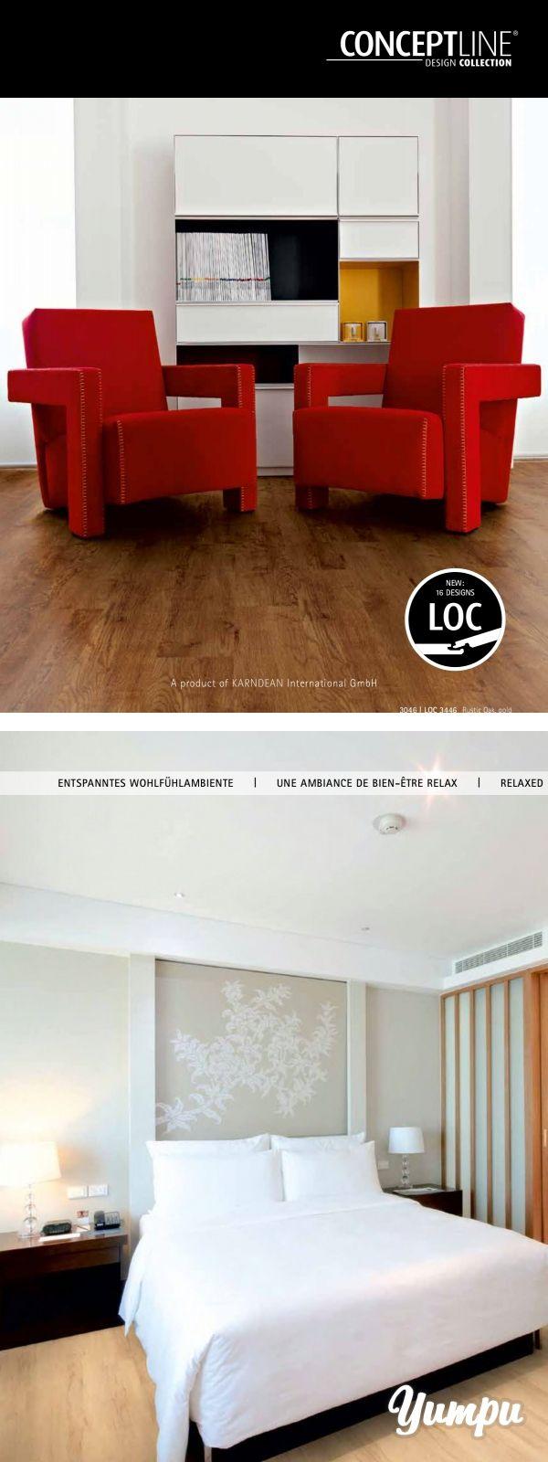 Magazin CONCEPTLINE Design Collection - Erleben Sie die Vielfalt von Vinylboden. Tolle Gestaltungsmölichkeiten ergeben sich durch diesen einzigartigen Bodenbelag.
