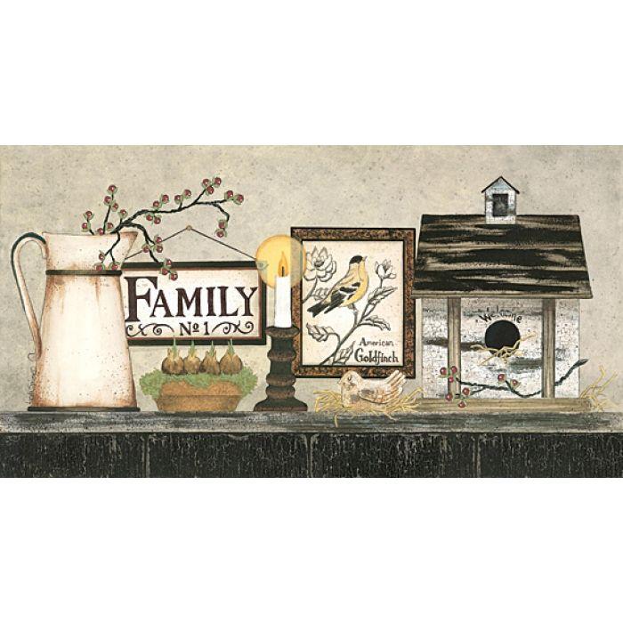 Family by Penny Lane artist Linda Spivey