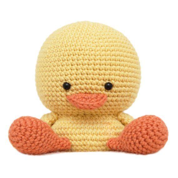 Henry the Duck Amigurumi Pattern.
