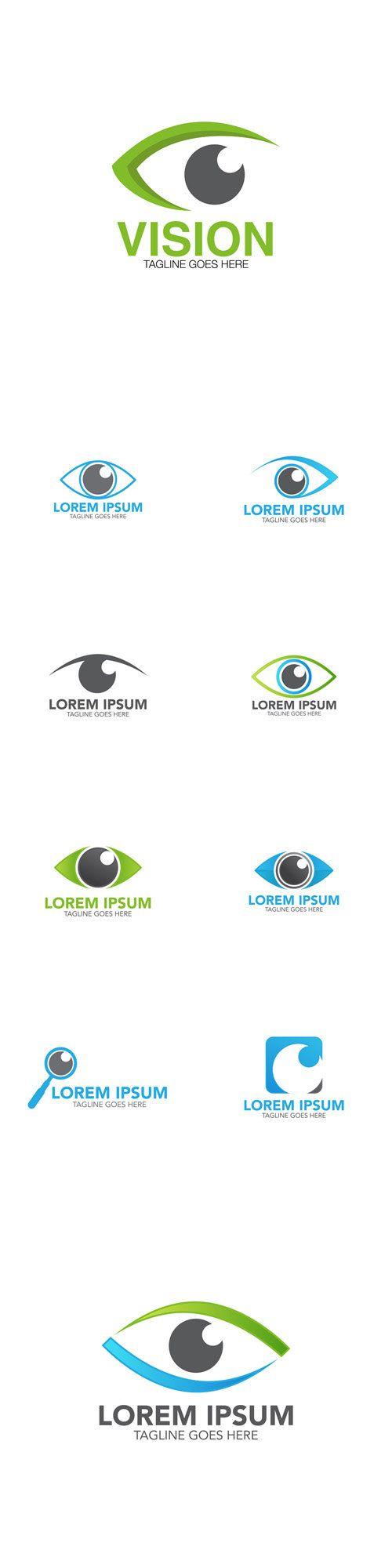 Vectors - Eye Logo Icons