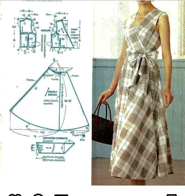 Vestido - Salvabrani | Moldes | Pinterest | Vestidos, Ropa reciclada ...