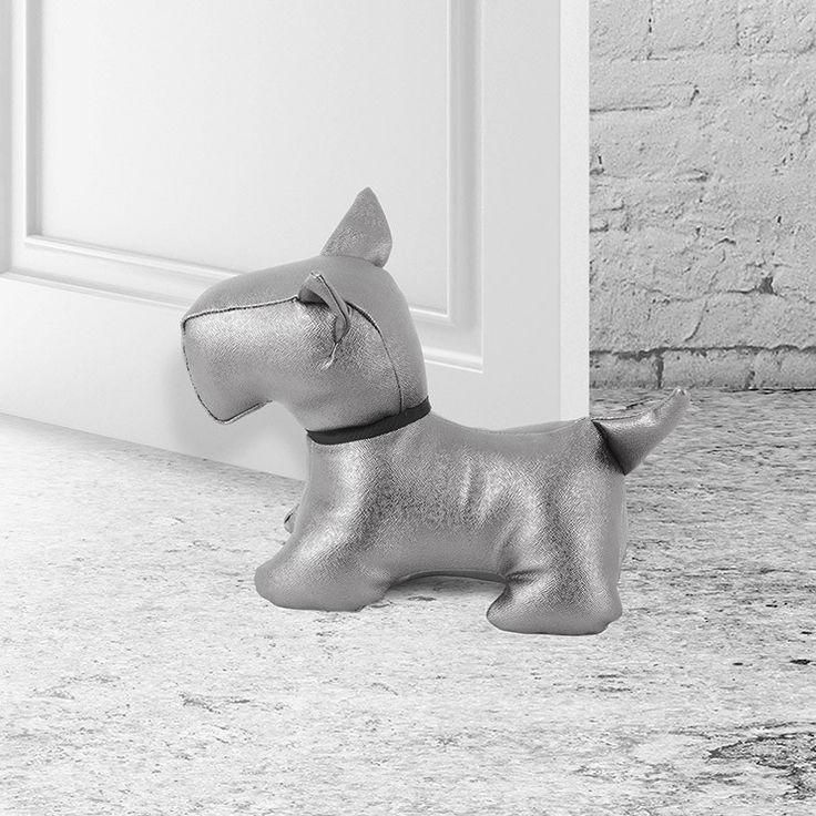 """Jak NIE wyprowadzać psa na spacer? - Balvi: Blokada do drzwi Piesek """"Scotish"""" #thedoors #drzwi #blokada #stoper #ciężarówka #gadżety #prezenty #urodzinowe #birthday #wind #windofchange #new #awesome #hot #balvi #onemarket.pl #window #windows #wiatr #kwiatywewlosach #pies #dog #pieskimaledwa #terrier #bajkidladzieci #kundel"""