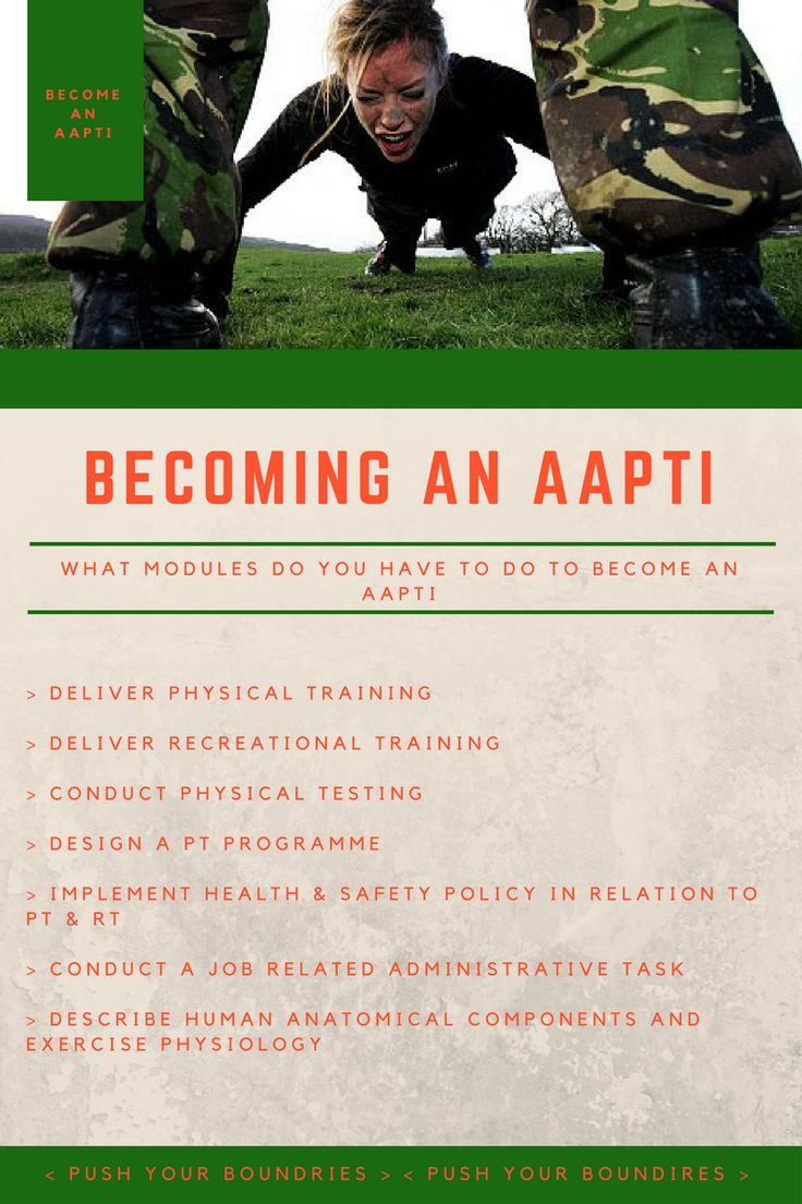 How to be an AAPTI. Personal trainer, Health and safety