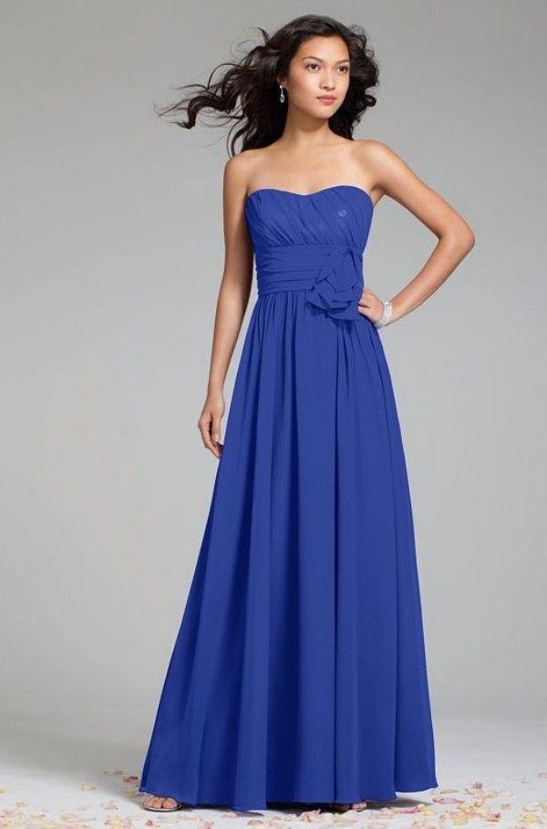 cobalt bridesmaid dresses