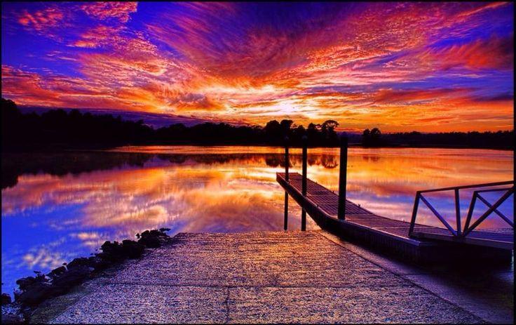 Tamar river. Launceston, Tasmania