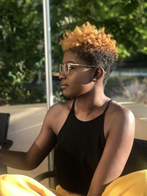 #haircolor #hair color #naturalhair #shortcurlyhair