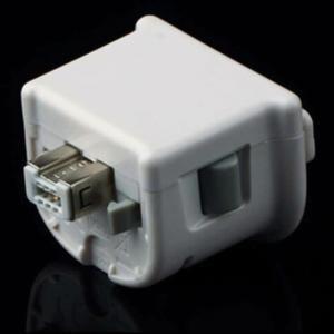 Vococal®  MotionPlus Motion Plus Adaptateur Capteur pour Nintendo Wii Contrôleur à Distance Blanc