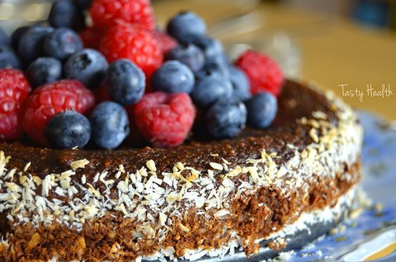 Tasty Health: Ljuvlig chokladig och nyttig kladdkaka