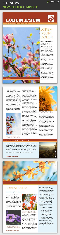 28 best free magazine newsletter templates images on pinterest