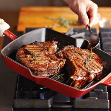 Bone-in Rib-Eye Steaks | Williams Sonoma