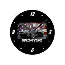 2003 Mustang Cobra Round Clock