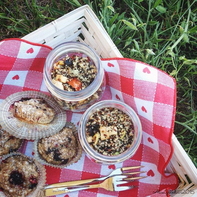 Un picnic vegetariano sfizioso: ricette e consigli Summer vegetarian picnic food ideas | RicetteVegolose