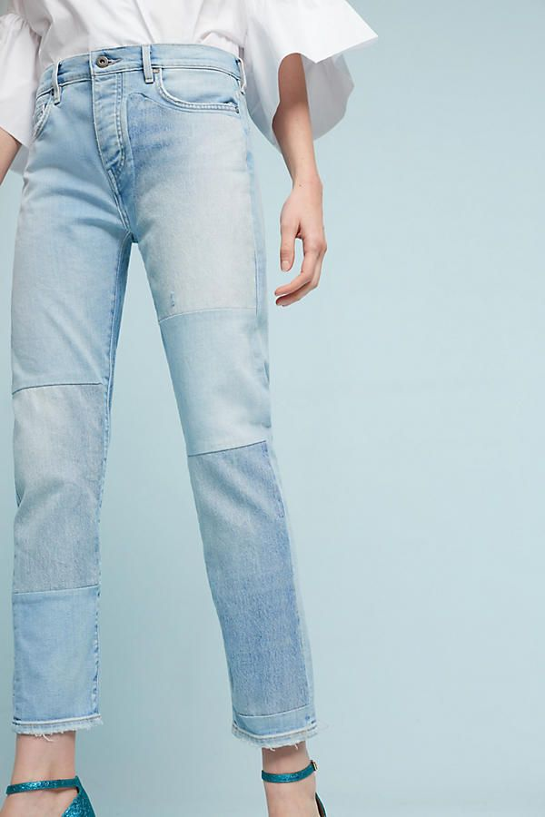 Slide View: 1: Levi's Made & Crafted High-Rise Slouchy Tapered Jeans