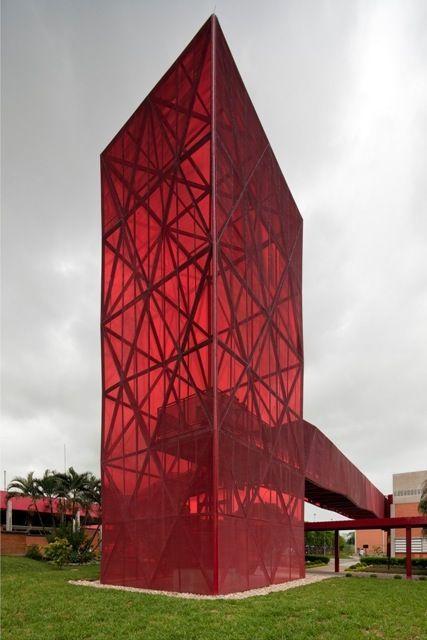 Museu Nestlé Arquitetos:Metro Arquitetos Associados - Anna Ferrari, Gustavo Cedroni e Martin Corullon  Localização: Via Dutra, Caçapava, São Paulo, Brasil