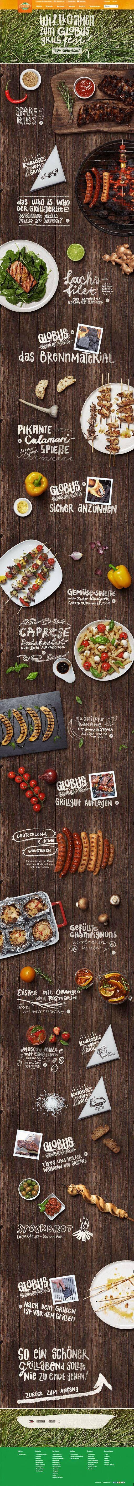 The Globus Grillfest by Kathrin Schmitz, via Behance
