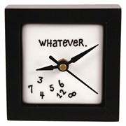 Quirky Gifts | Whatever Desk Clock | Thumbnail