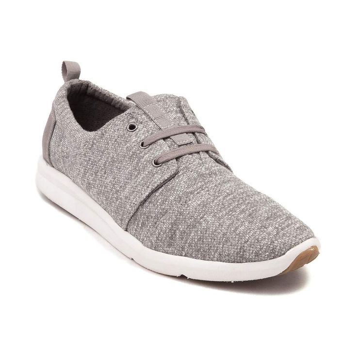 Be fashionably sporty this Summer the new Womens Del Rey Casual Shoe from TOMS. The Del Rey features a super soft jersey-knit upper, breathable lining, and durable rubber outsole for shock-absorbing traction. <b>Only available at Journeys and SHI by Journeys!</b>  <br><br><u>Features include</u>:<br> > Soft jersey-knit upper<br> > Lace closure offers a secure fit<br> > Molded EVA midsole for lightweight support and comfort<br> > Rubber outsole provides flexible traction<br> $79