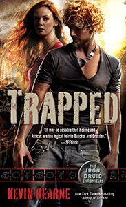 Trapped ( The Iron Druid Chronicles, Book # 5). Narrated by Luke Daniels.  http://audiobookjungle.com/