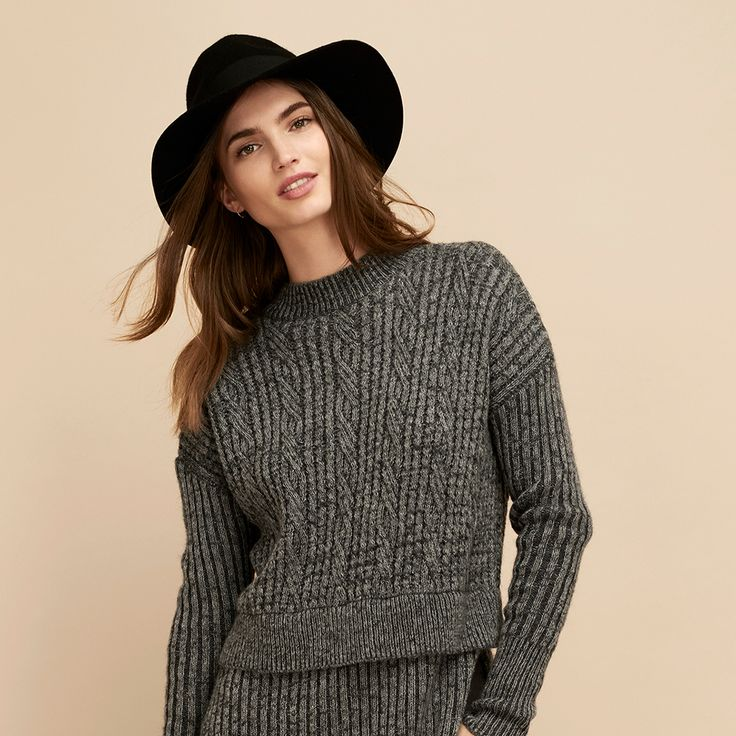 Welcome to winter. Shop new arrivals online now. #seedheritage #seed #woman