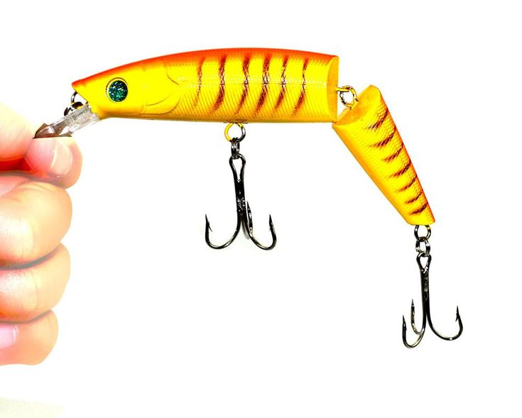 14CM 20.2G MULTI JOINTED BAIT 2 SECTIONS JERK CHEAP FISHING TACKLE