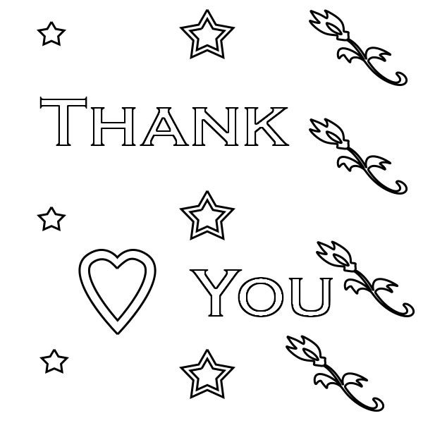 Thank You Coloring Pages Coloring Pages Flag Coloring Pages